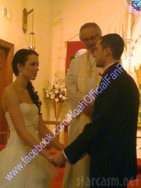 Jordan Ward and Brian Finder married picture from their wedding ceremony