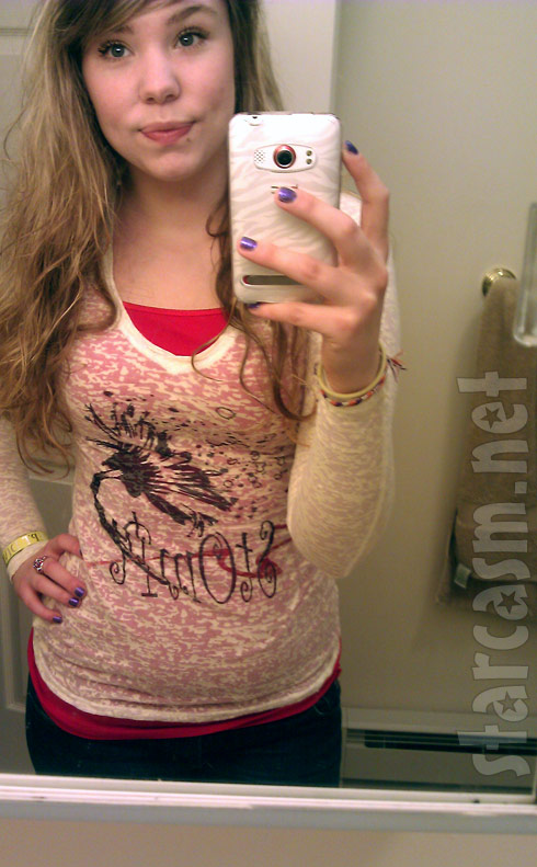 Twitter photo of Teen Mom 2's Kailyn Lowry