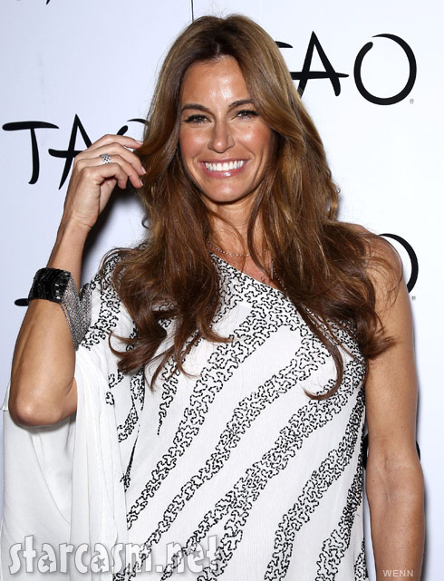 Kelly Bensimon celebrates her 43rd birthday at Tao nightclub