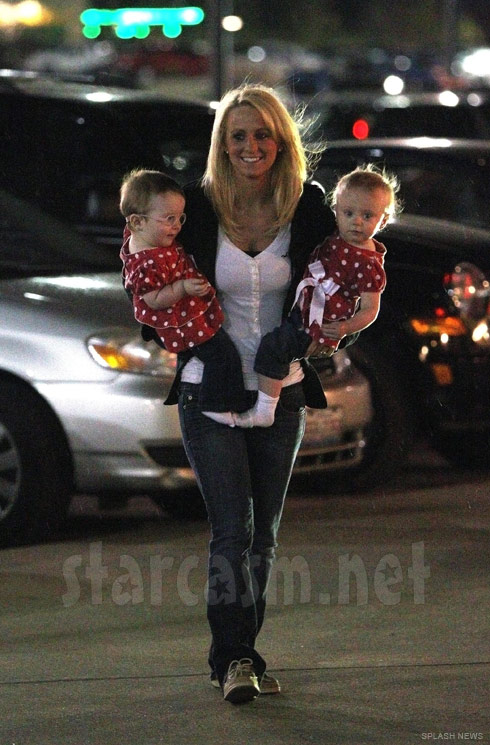 Leah Messer and Twins