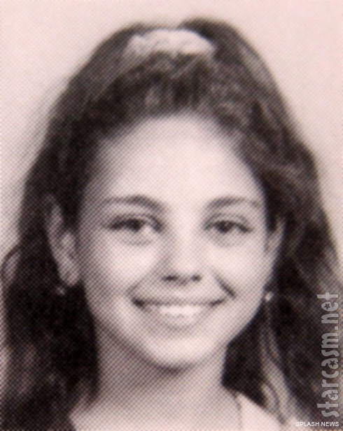 Middle School yearbook photo of actress Mila Kunis