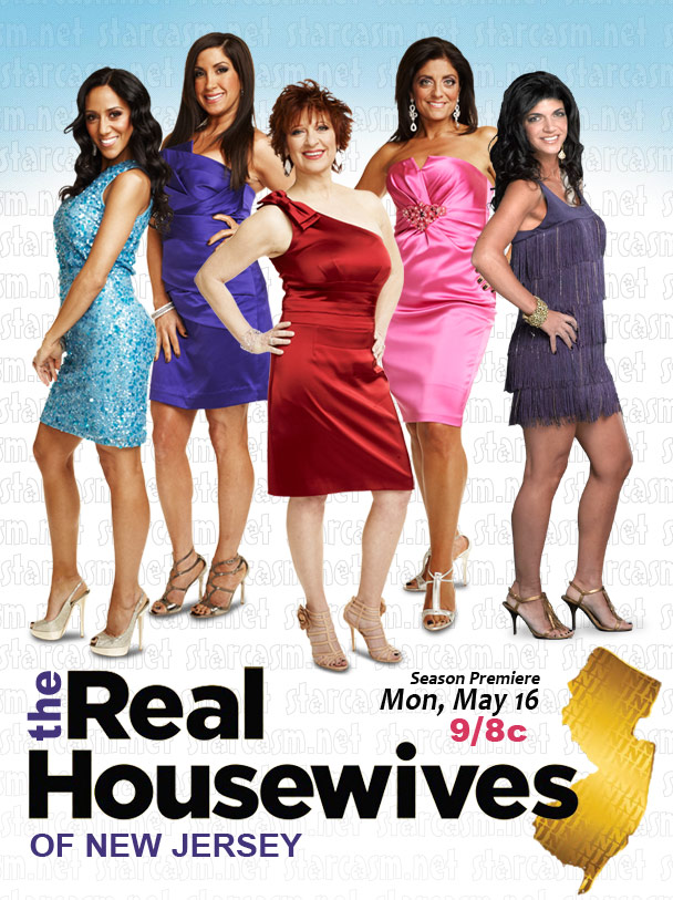 Cast of The Real Hosuewives of New Jersey with Kathy Wakile and Melissa Gorga