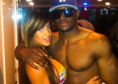 how did reggie bush and girlfriend meet