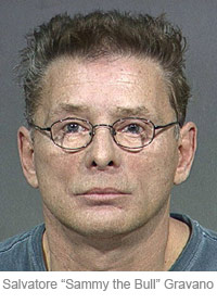 Sammy the Bull mug shot from Salvatore Gravano's 2000 arrest in Arizona