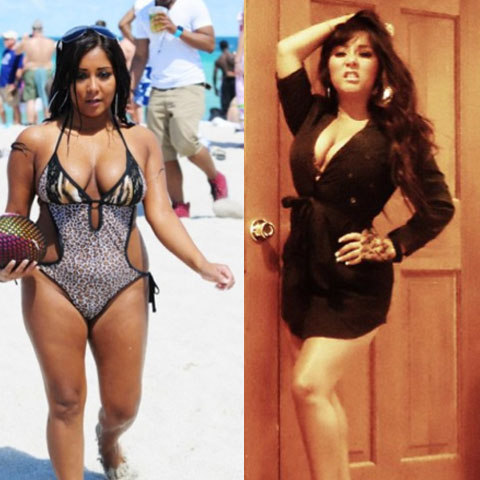 PHOTOS: How did Snooki lose weight? - starcasm.net