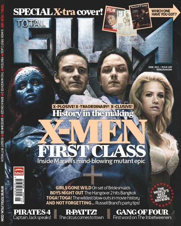 X-Men First Class Total Film magazine cover