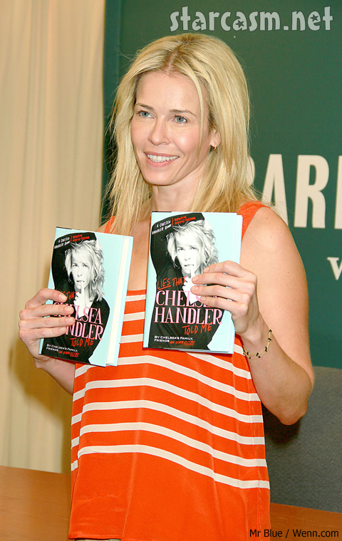 Chelsea Handler got an abortion at 16