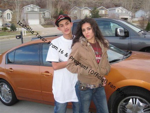 Jairo Rodriguez shows off his car and his fiancee Izabella Tovar