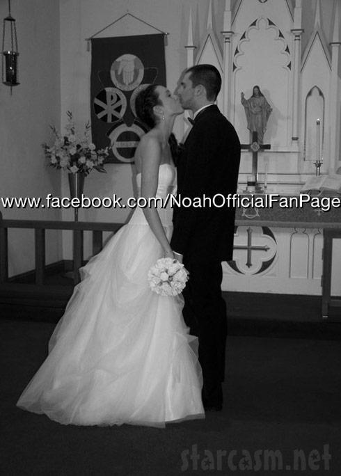 Jordan Ward and Brian Finder wedding picture