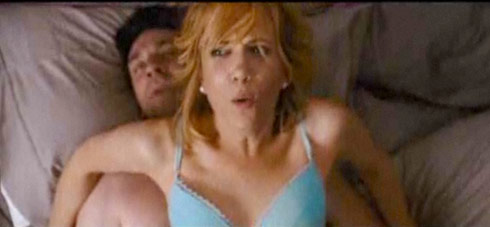 Kristen Wiig's sex scene with Jon Hamm from Bridesmaids