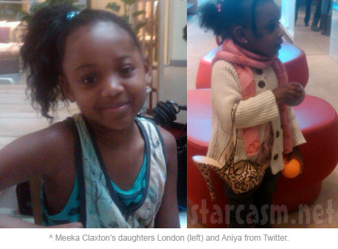 Meeka Claxton's daughters London Claxton and Aniya Claxton