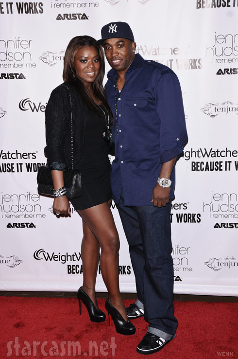 Meeka Claxton with husband Speedy Claxton in March 2011