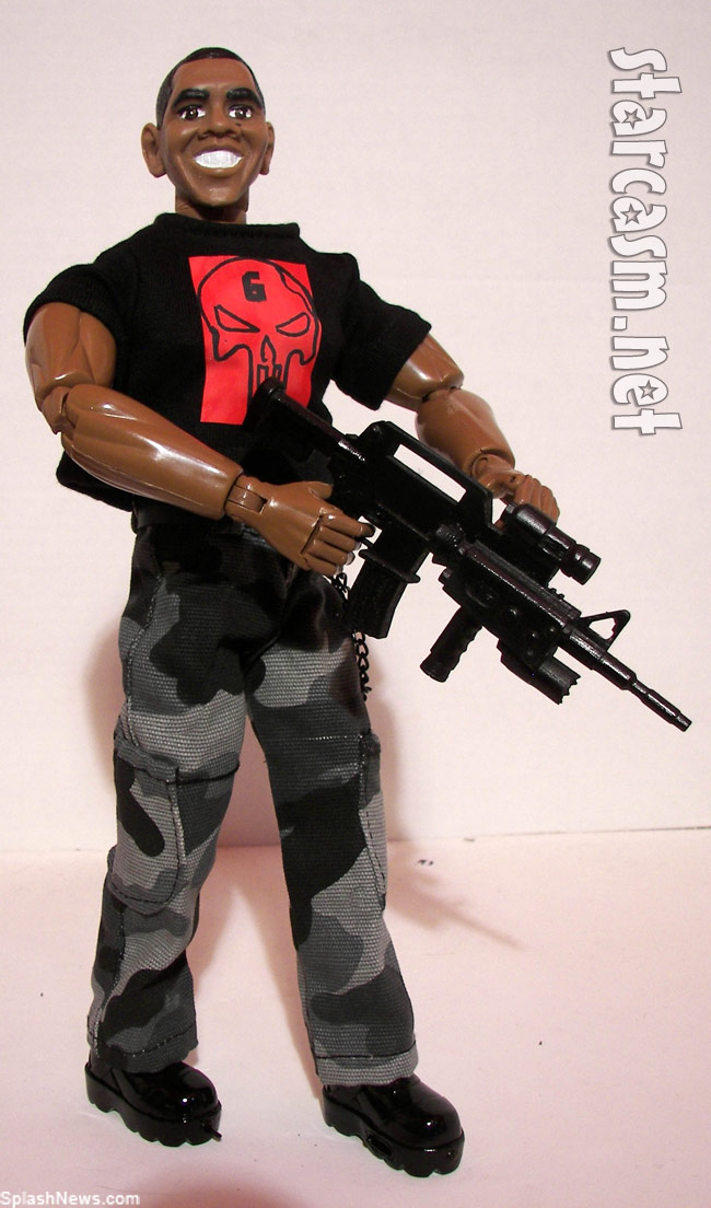 President Obama Seal Team 6 action figure The Rambama