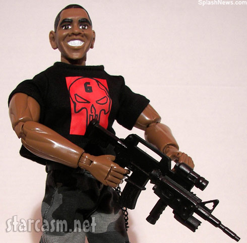 President Obama immortalized as an action figure