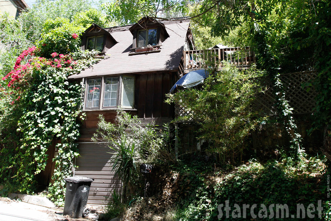 Photo of Playboy Playmate Yvette Vickers' home where she was found dead and mummified