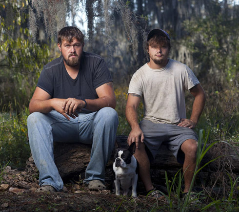 Swamp People Blake McDonald and Austyn Yoches