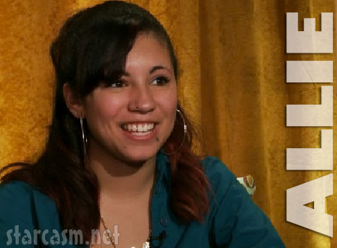 Allison Allie Mendoza from the 16 and Pregnant Season 3 finale