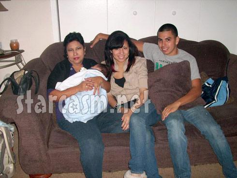 Allie Mendoza baby daddy Joey Aranzata and Belen