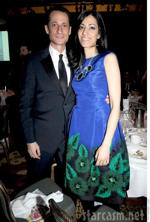 Anthony Weiner's wife Huma Abedin is reportedly pregnant according to The New York Times