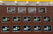 There are 14 frames for contestant photos in the Big Brother 13 house