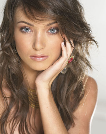 Big Brother 13 model Cassi Colvin headshot photo
