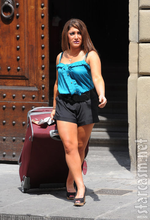 photos jersey shore cast packs up and leaves florence