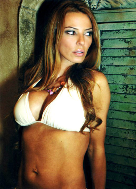 Mob Wives star Drita DAvanzo poses in a bikini for a calendar photoshoot