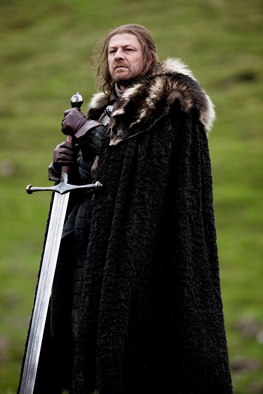 Actor Sean Bean as Lord Eddard Ned Stark in Game of Thrones