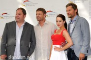 Game of Thrones actors Mark Addy, Sean Bean, Emilia Clarke and Nikolaj Coster-Waldau