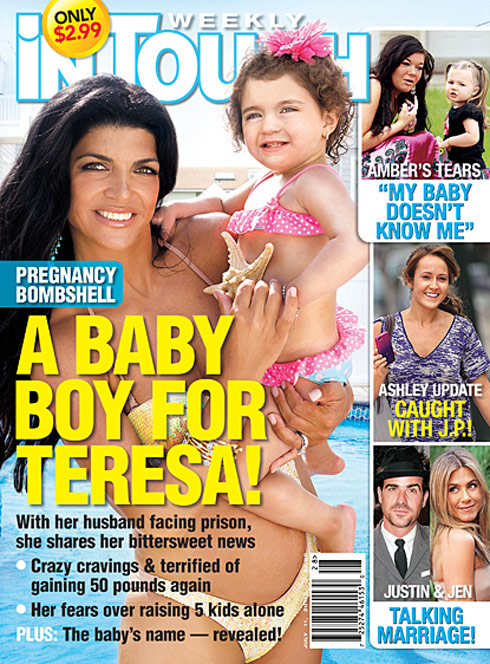 2011 In Touch Weekly cover A Baby Boy For Teresa Giudice