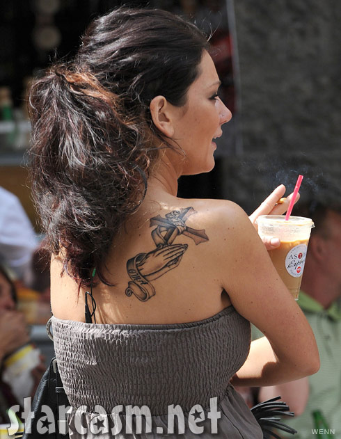JWoww S Tattoo On Her Side