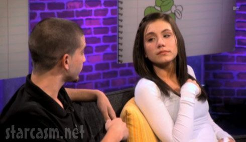 Jamie McKay and baby daddy Ryan on the 16 & Pregnant Season 3 Reunion Special