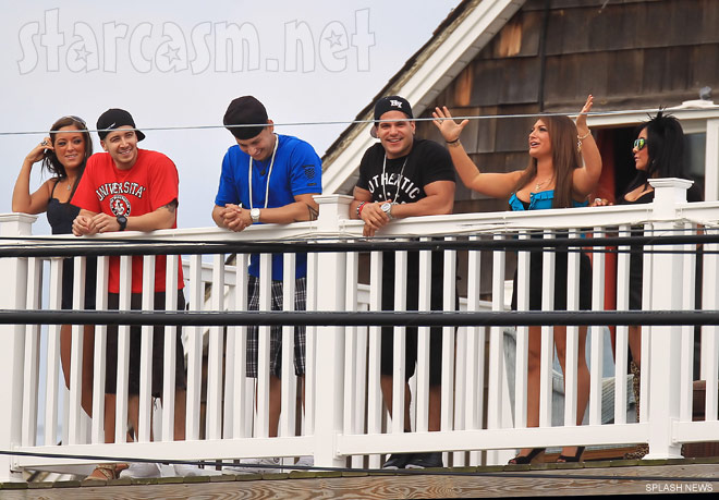 The cast of Jersey Shore return to Seaside Heights New Jersey for Season 5