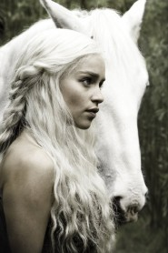 Emilia Clarke as Daenerys Targaryen from Game of Thrones