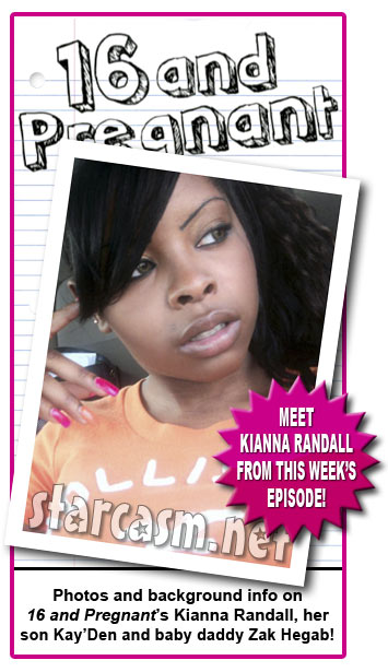 janelle from 16 and pregnant. 16 and Pregnant#39;s Kianna