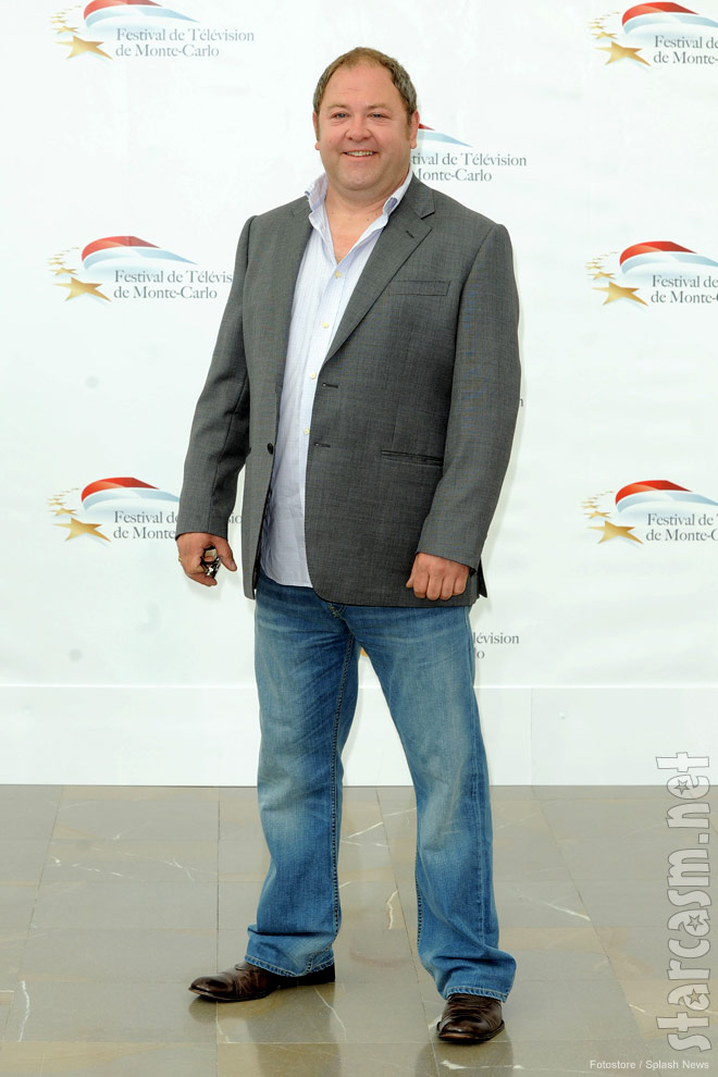 Mark Addy from Game of Thrones at the 2011 Monte Carlo Television Festival