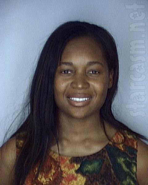 RHOA's Marlo Hampton mug shot photo from her May, 1999 arrest for aggravated battery