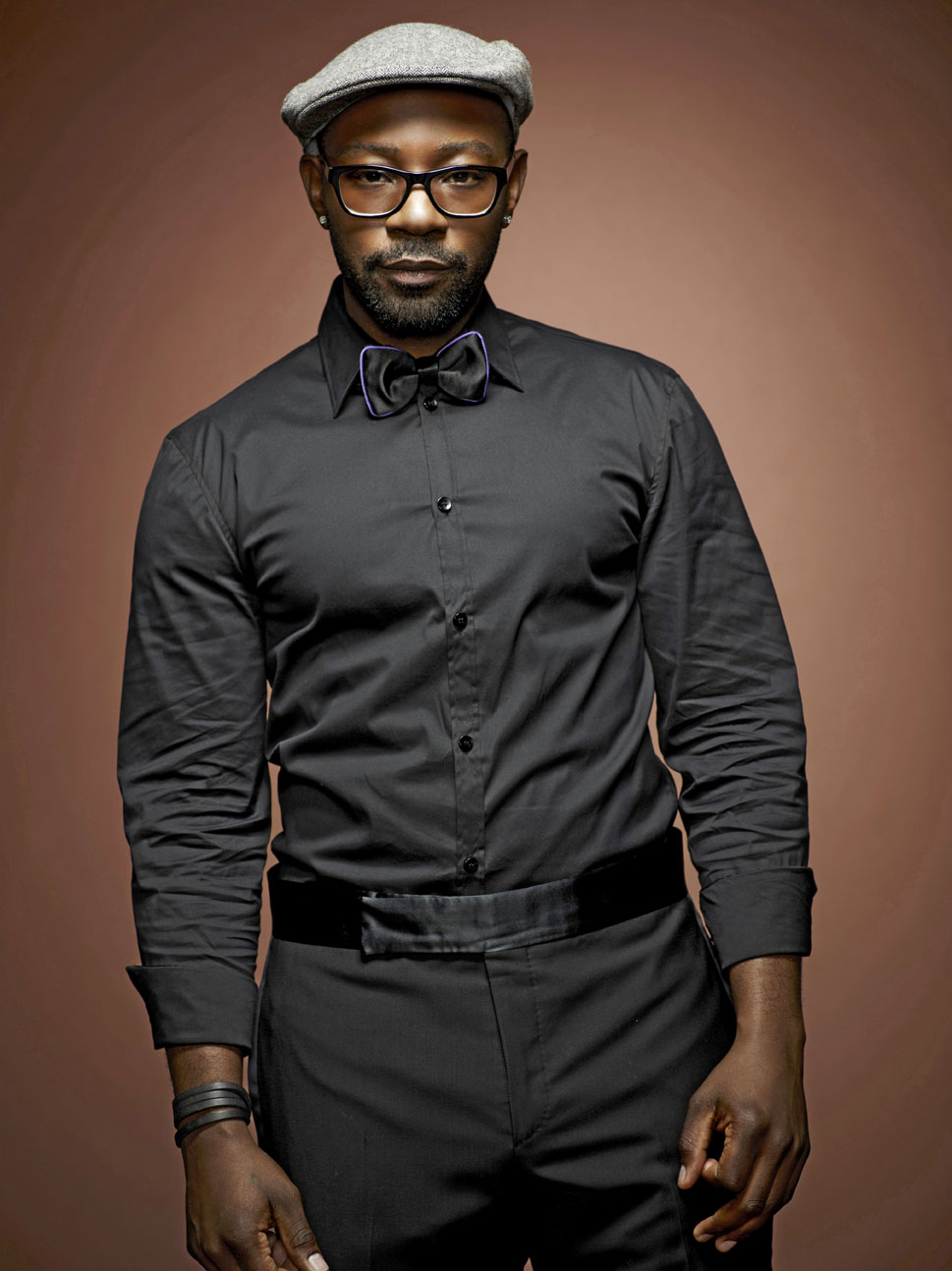 Nelsan Ellis True Blood Season 4 official HBO portrait photo