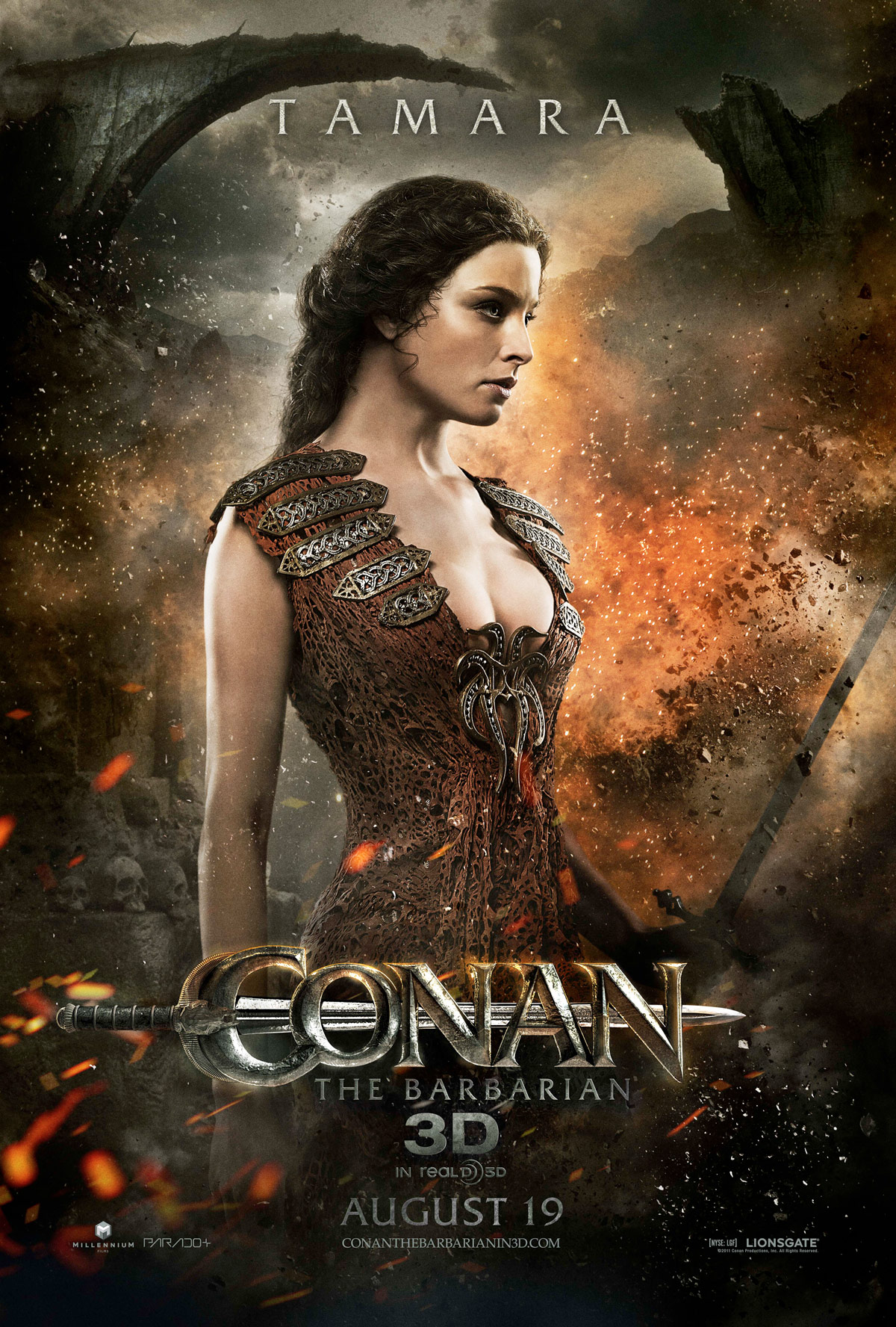 "Conan 2011 Classy photo rachel nichols as tamara ""conan the barbarian"" character"