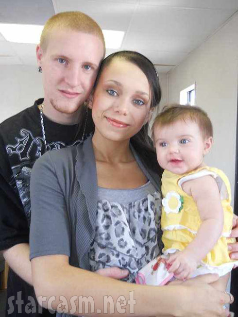 16 and Pregnant's Taylor Lumas, baby daddy Nathan and daughter Aubri