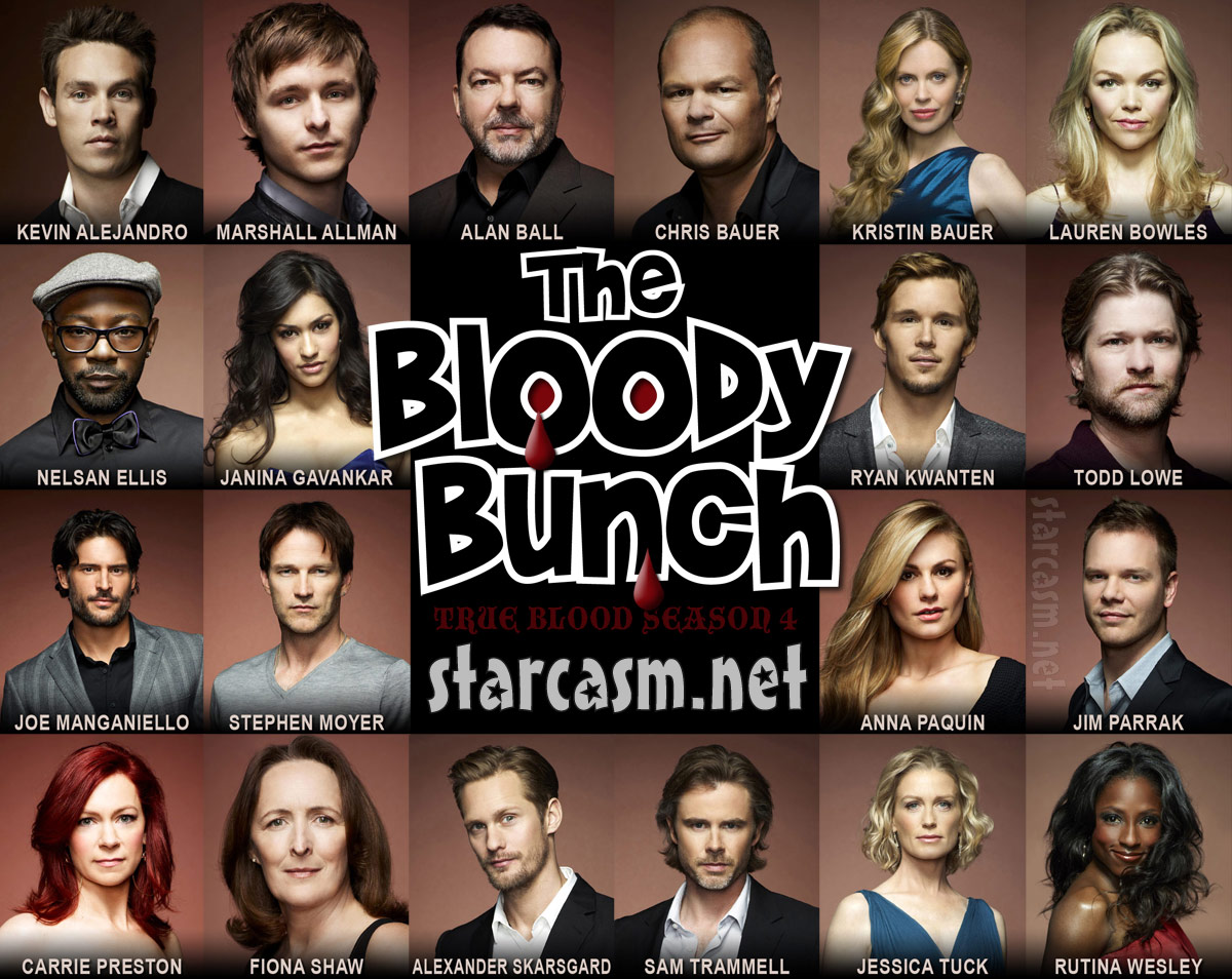 True Blood Brady Bunch mash up The Bloody Bunch photo