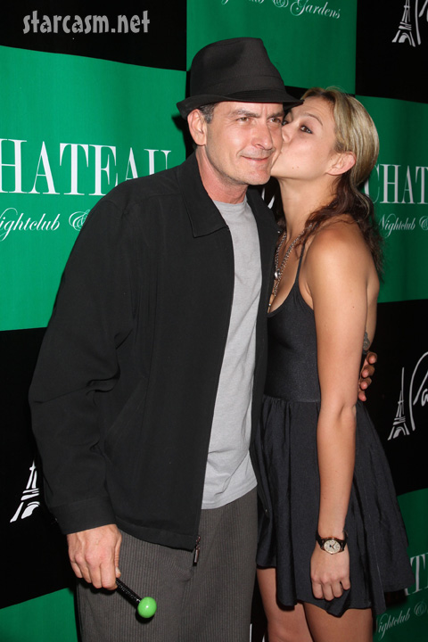 Charlie Sheen dumped by Natalie Kenly