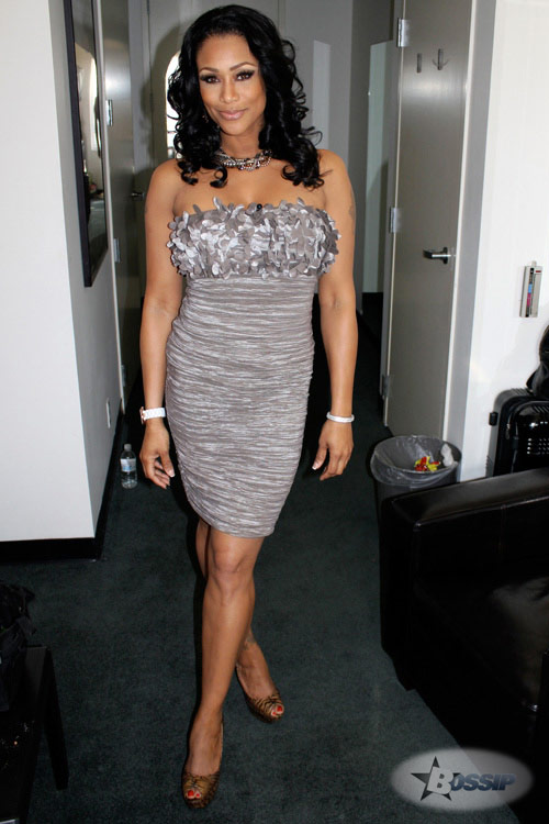 Basketball Wives Tami Roman full-length photo