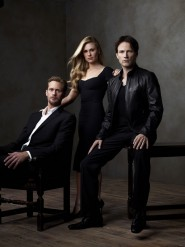 Alexander Skarsgard, Anna Paquin and Stephen Moyer True Blood photo