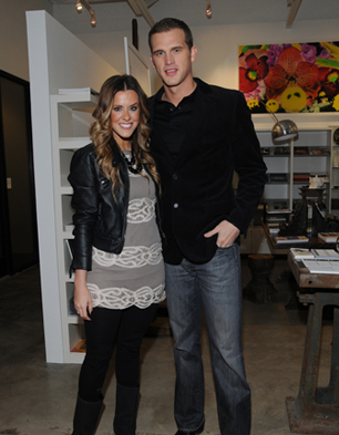 Courtney Kerr and Matt Nordgren together Most Eligible Dallas