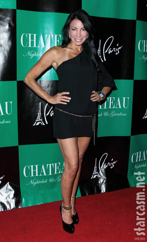Danielle Staub at VH1′s Famous Food Pre-Party at Chateau Nightclub and Garden at Paris Hotel and Casino Las Vegas