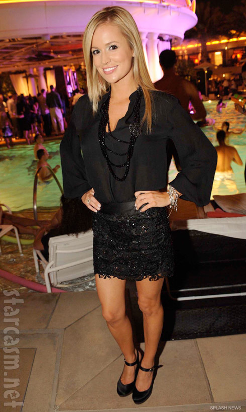 Emily Maynard enjoys a girls' night out at XS nightclub in Las Vegas