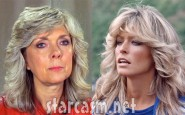 Teen Mom's Debra Danielson and Farrah Fawcett side by side