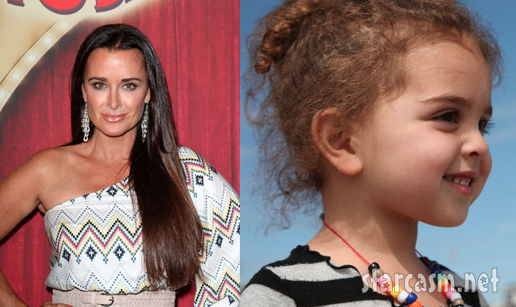RHOBH Kyle Richards and her adorable daughter Portia