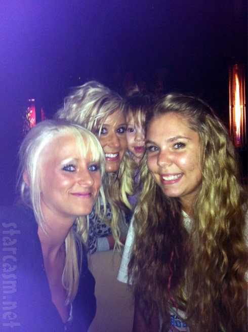 Teen Mom 2 blond babes Leah Messer Chelsea Houska Aubree Skye and Kailyn Lowry